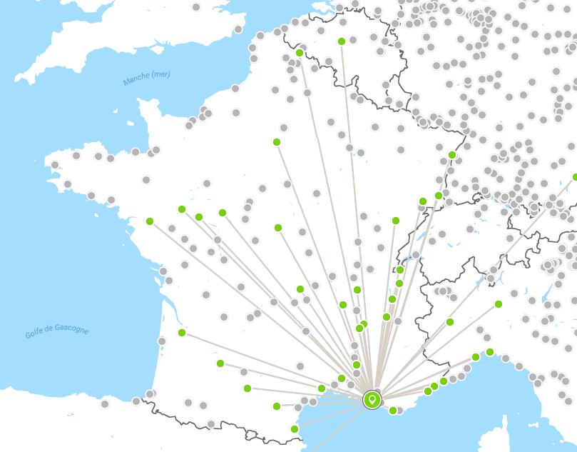 Carte Flixbus Europe.Bde Polytech Marseille Flixbus